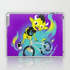 Monster Pixie Riding a Fixie Laptop & iPad Skin