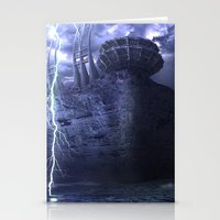 Alien Thunder  Stationery Cards