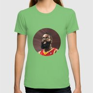 James Harden Womens Fitted Tee Grass SMALL