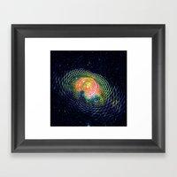 Energy Toroidal Framed Art Print