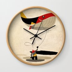thoughts on a leash Wall Clock