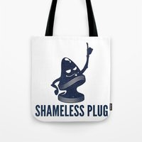 Shameless Plug Tote Bag