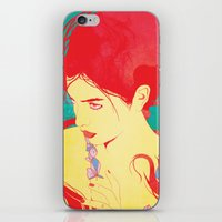 RED HAIR iPhone & iPod Skin