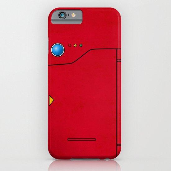 Dexter the Pokedex - Minimalism Pokemon Poster iPhone & iPod Case