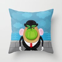 Son Of The Tuber  Throw Pillow