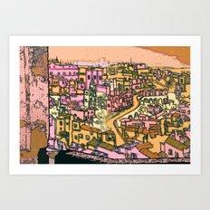 Matera, Italy Art Print