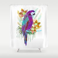 Parrot Elua  - Style A Shower Curtain
