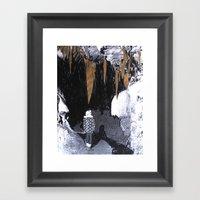 Cave Drawing VIII Framed Art Print