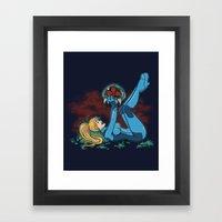 Lucky Metroid Framed Art Print