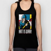 Art is War! Unisex Tank Top