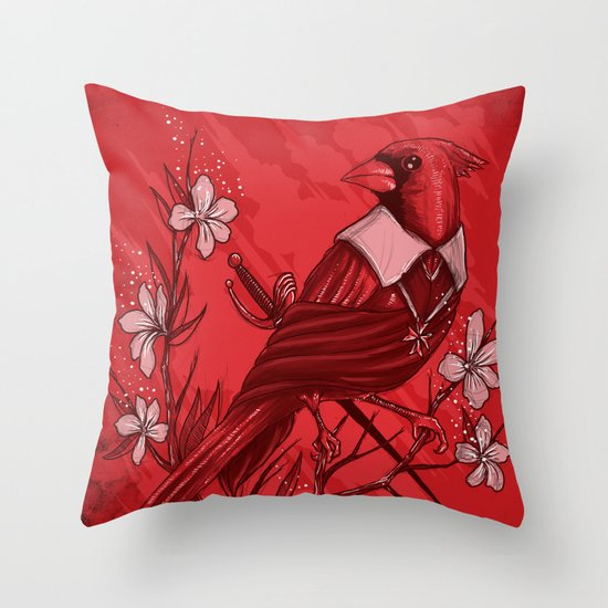 A Plot To Destroy The King Throw Pillow