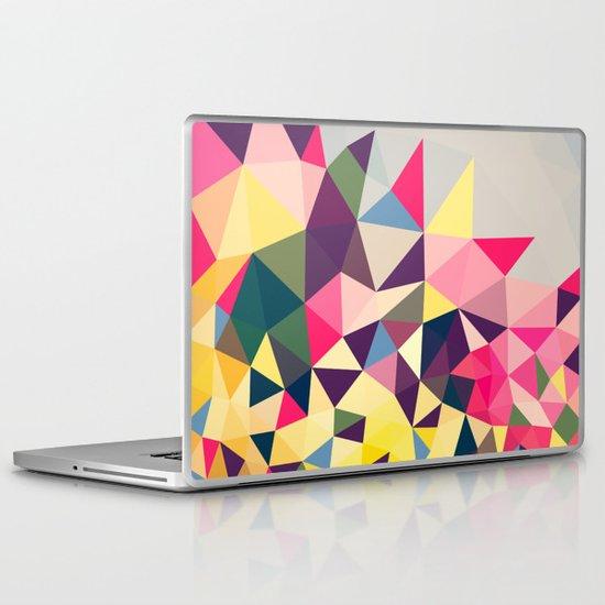 Creeping Tris Laptop & iPad Skin