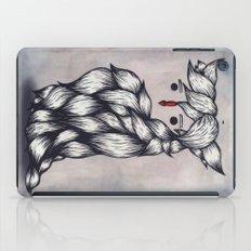 Her Owl Hair iPad Case