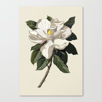 Within a Flower Canvas Print