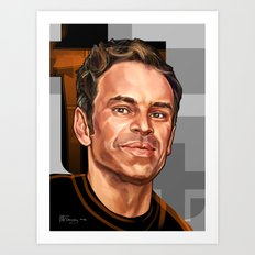 Portrait of Steven Ogg also known as