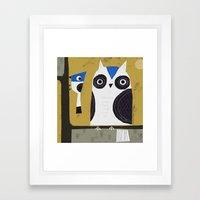 BIRD BUDDIES 2 Framed Art Print
