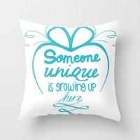 Future Moms Throw Pillow