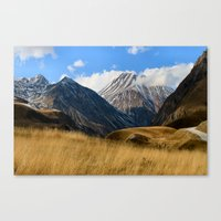 Mountain of Chocolate Canvas Print