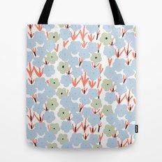 Plum Blossom Tote Bag