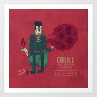 Carlyle, The Christmas V… Art Print