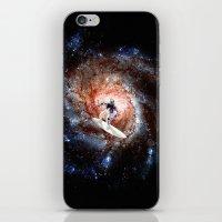 Ride The Spiral iPhone & iPod Skin