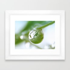 A Life in A Moment Framed Art Print