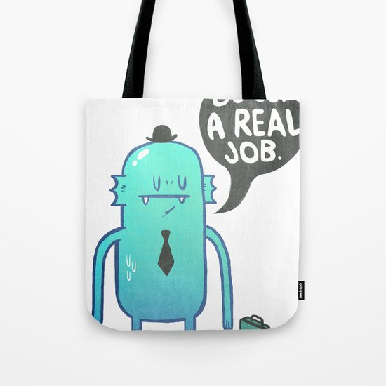 Job Hunt Tote Bag