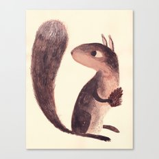 Squirrel Canvas Print