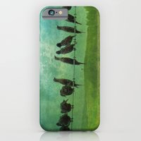 iPhone & iPod Case featuring Collecting by TaLins