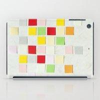 Colour Blocks Papercut iPad Case