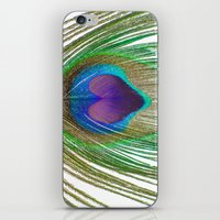 Peacock Love iPhone & iPod Skin