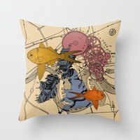 Neanderway Throw Pillow