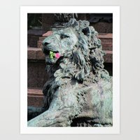Lion In Vienna Art Print