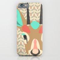 iPhone & iPod Case featuring gazelle by Ela Caglar