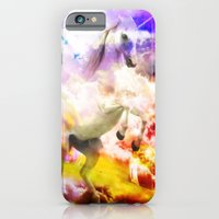 unicorn iPhone & iPod Cases featuring Unicorn  by haroulita