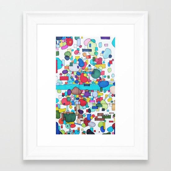 River City Framed Art Print