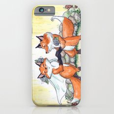 Fox Wedding  iPhone 6 Slim Case