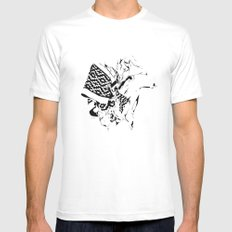 ethnic plus White SMALL Mens Fitted Tee