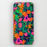 CRAZY FLOWERS iPhone & iPod Skin