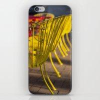 Yellow Chairs iPhone & iPod Skin