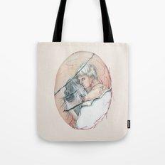 14/02 : Love Triangle  Tote Bag
