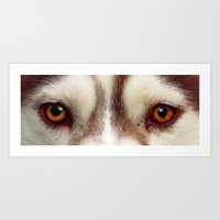 The Eyes Art Print