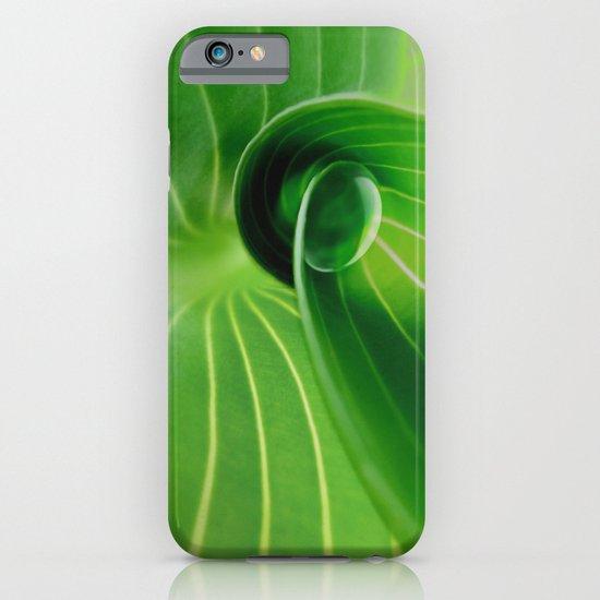 Leaf / Hosta with Drop (2) iPhone & iPod Case