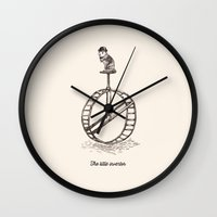 The Little Inventor Wall Clock