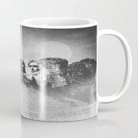 Rushmore at Night Mug