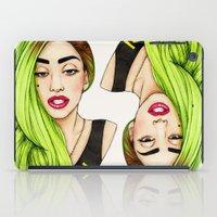 Lady Neon iPad Case