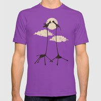 SOLO Mens Fitted Tee Ultraviolet SMALL