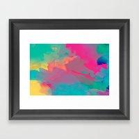 The Colors Mix Framed Art Print