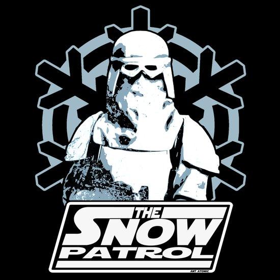 Snow Patrol Art Print