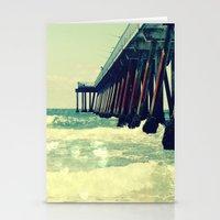 Hermosa Beach Pier Heart… Stationery Cards